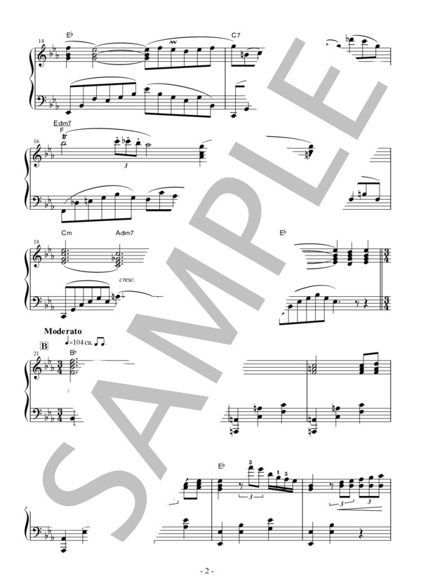 ノクターン9-2 楽譜