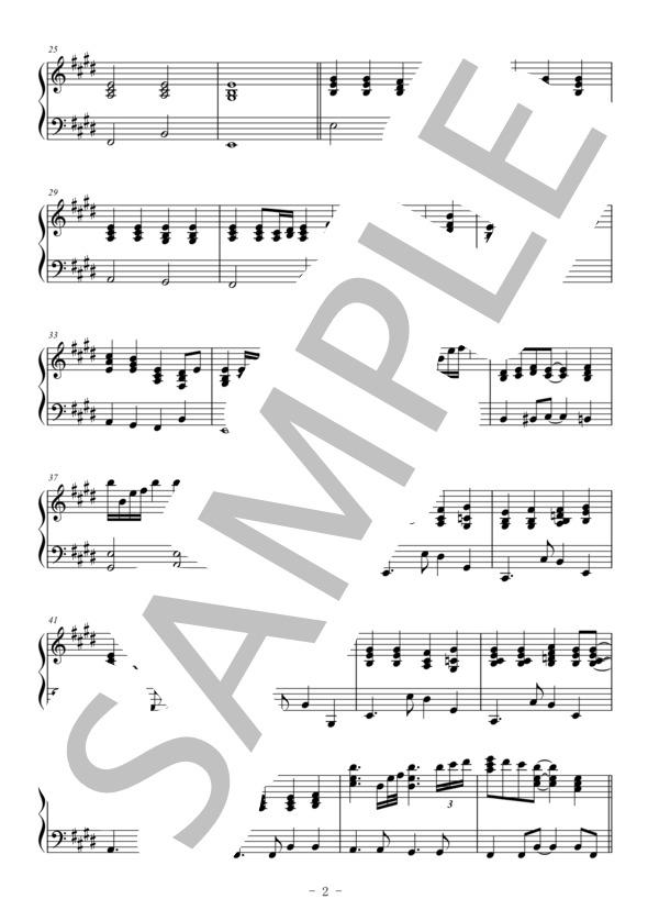 ピアノ 楽譜 ハナミズキ